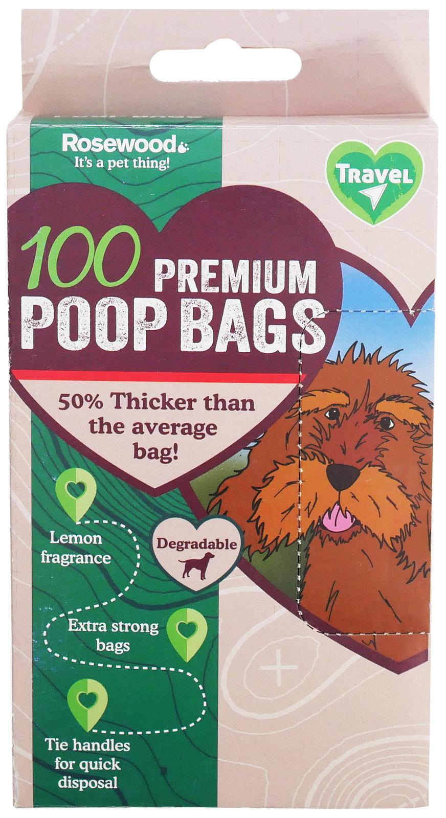 Пакеты для выгула Rosewood биоразлагаемые, черный, 100 шт, лимон- обзор, преимущества, отзывы. Заказать товар для животных за 200 руб. Бренд Rosewood