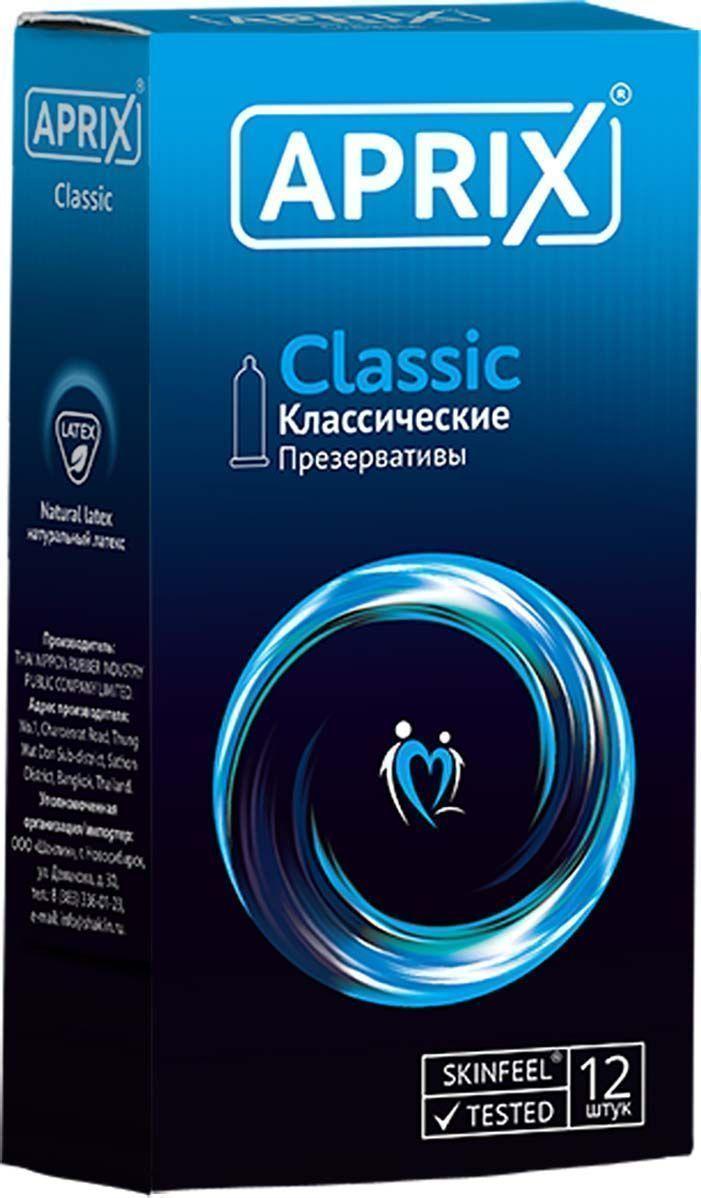 Купить Презервативы Aprix Classic Классические 12 шт.
