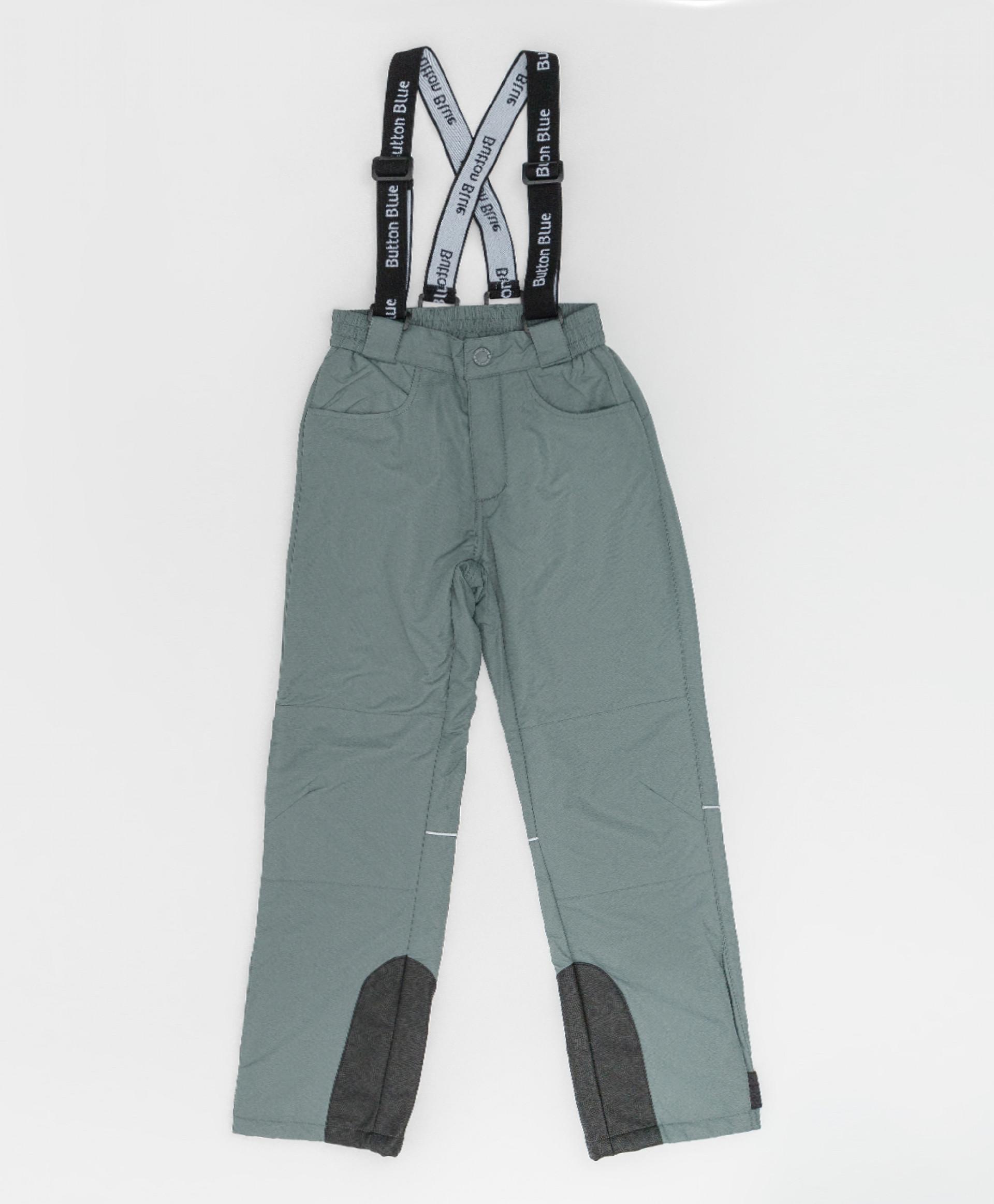 Купить Демисезонные брюки Active Button Blue 220BBGA64012000, размер 140,