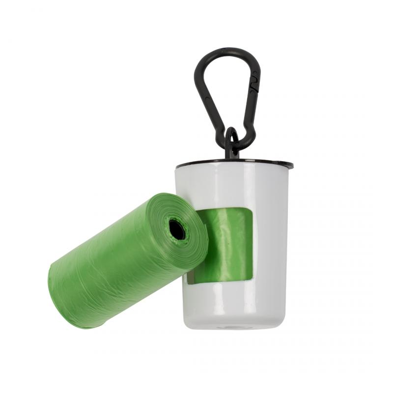 Контейнер для пакетов Duvo+ зеленый, белый, 2 рулонов по 20 шт- обзор, преимущества, отзывы. Заказать товар для животных за 180 руб. Бренд Duvo+