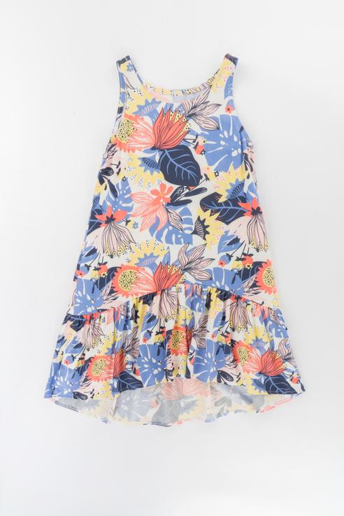 Купить Повседневное хлопковое платье Ennergiia Голубой 146 21-13984П-Э,