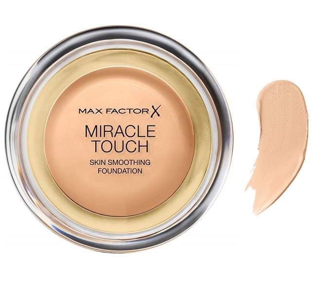 Купить Тональная основа Miracle Touch , Golden , тон 075, miracle Touch Miracle Touch Skin Smoothing Foundation 075 Golden, Max Factor