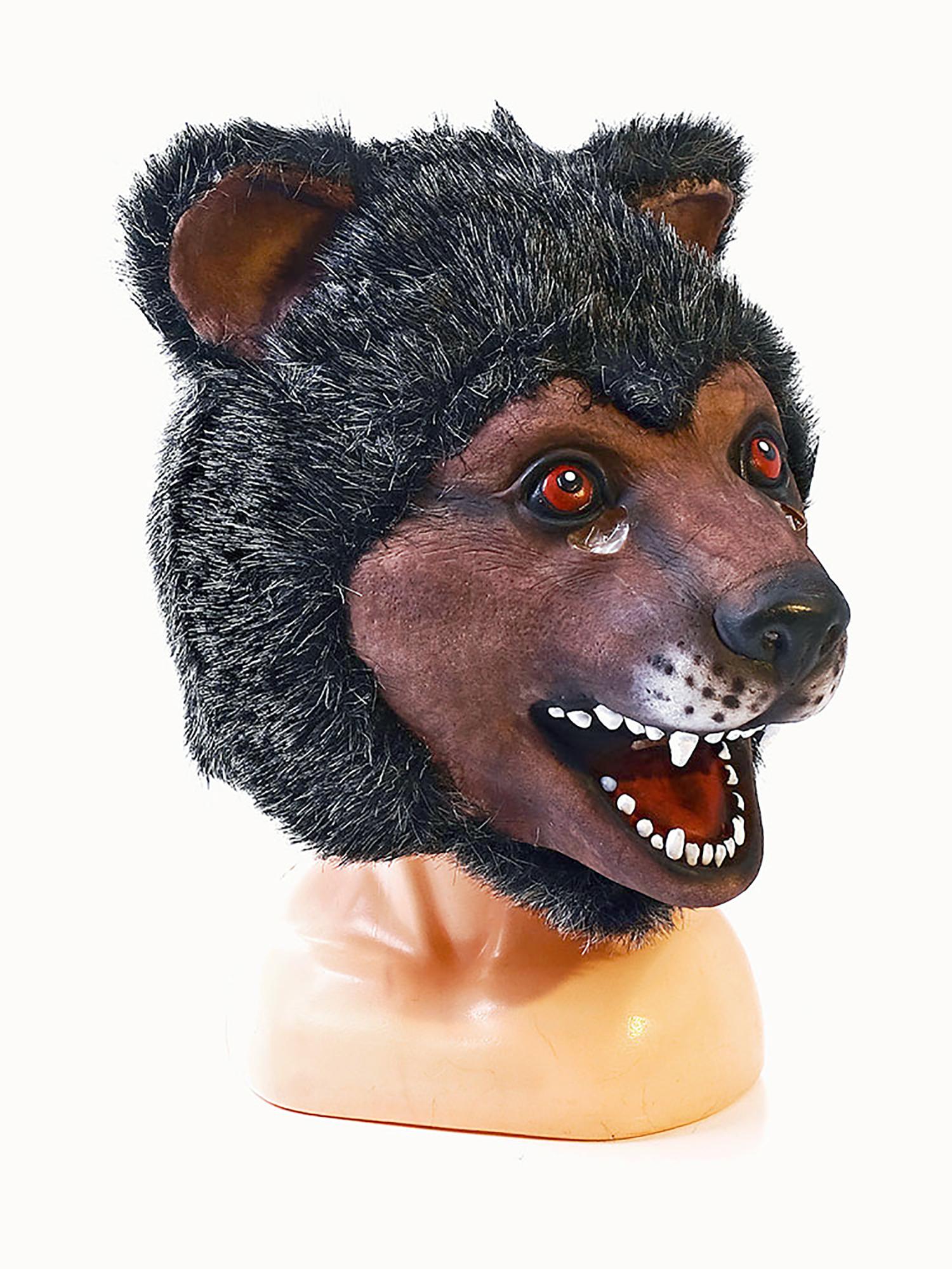 Купить Маска латексная АРТЭ Медведь, коричневый, АРТЭ Театральная Галерея,