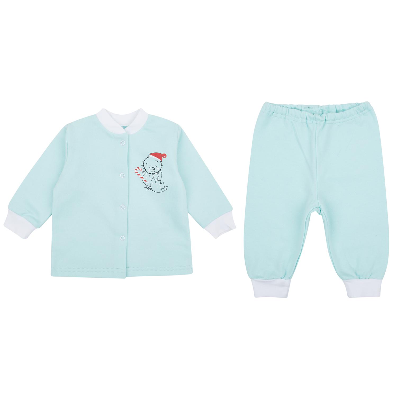 Пижама детская Leader Kids ЛКЗ2120605292фу18 голубой р.92