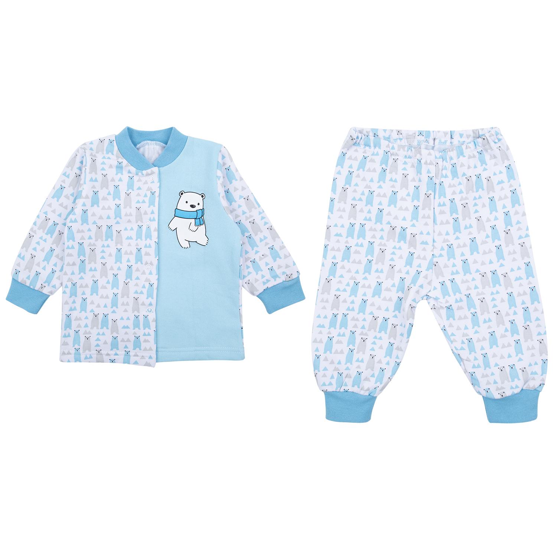 Пижама детская Leader Kids ЛКЗ2120605268фу16 голубой р.68