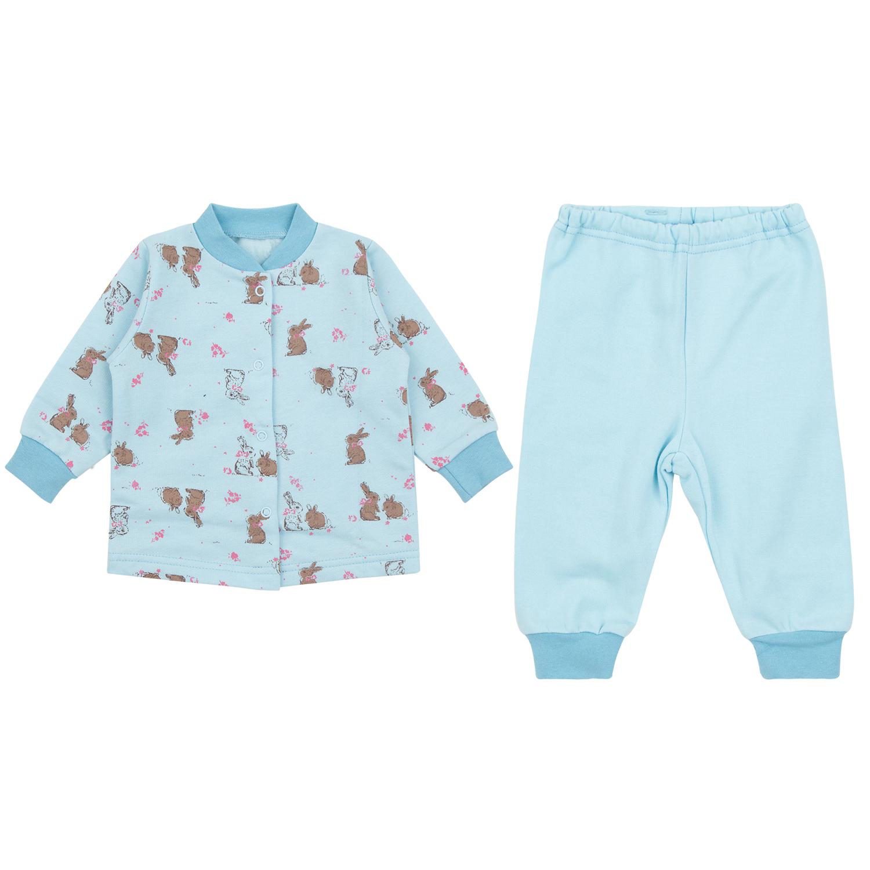 Пижама детская Leader Kids ЛКЗ2120605274фу15 голубой р.74