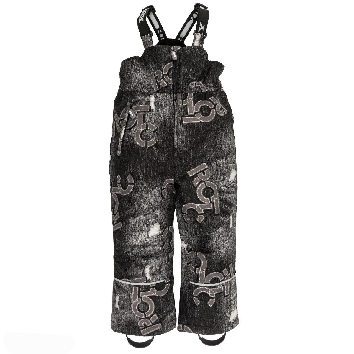 Купить Полукомбинезон JACK Kerry, Размер 122, Цвет 9890-черный джинс K19451A-9890_122,