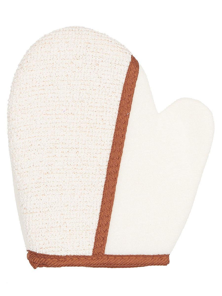 Купить Двухсторонняя массажная мочалка-рукавица Safi Tex, 18х20 см, NoBrand