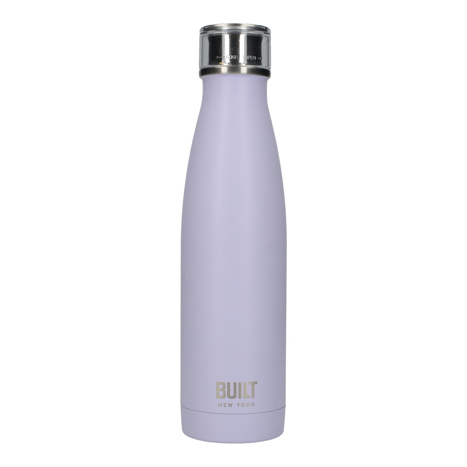 Бутылка Термос Лавандовая 500мл металлическая Built