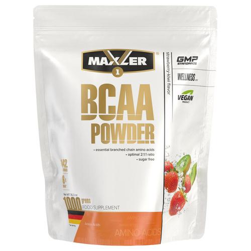 Аминокислоты БЦАА MAXLER BCAA Powder Sugar Free 1000 гр (Клубника-киви)