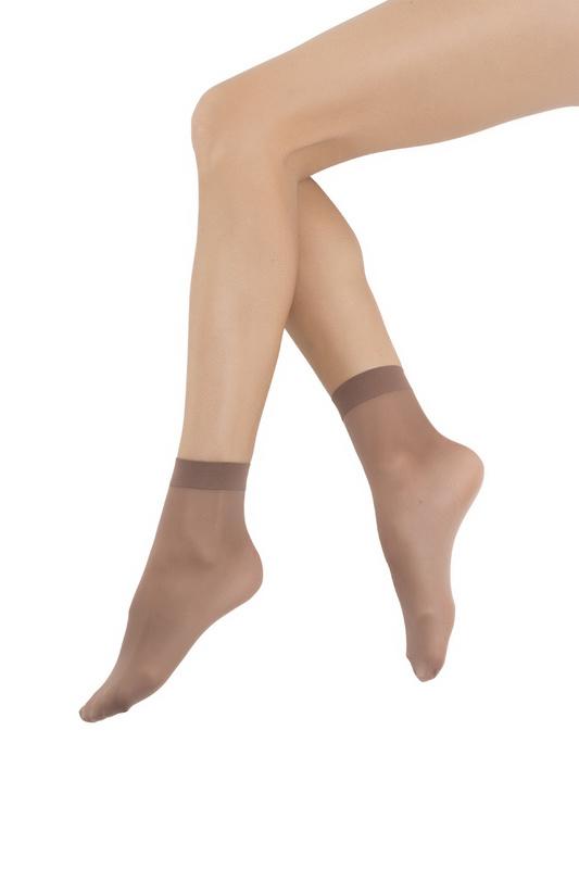 Носки женские Sisi коричневые UNI