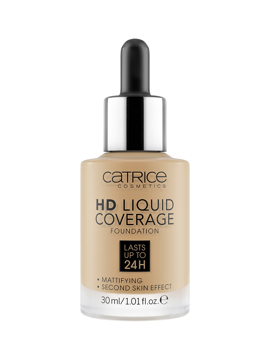 Жидкая тональная основа CATRICE HD Liquid Coverage