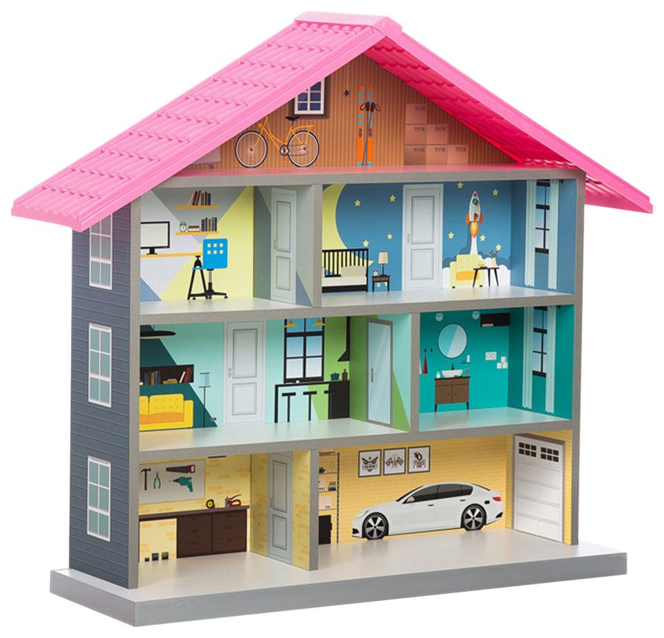 Кукольный домик стеллаж Futuka kids MiMi