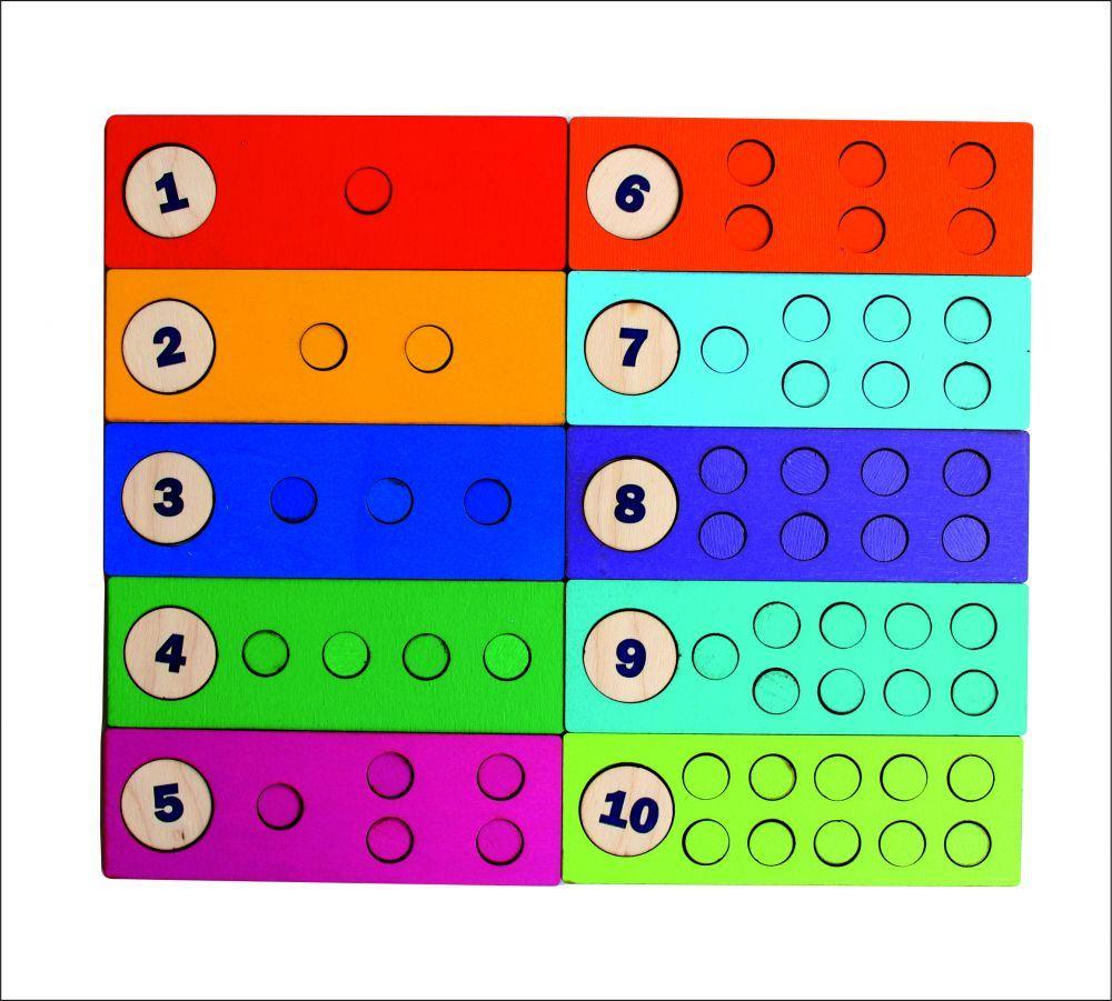 Счетные дощечки, SmileDecor пособие по математике П045