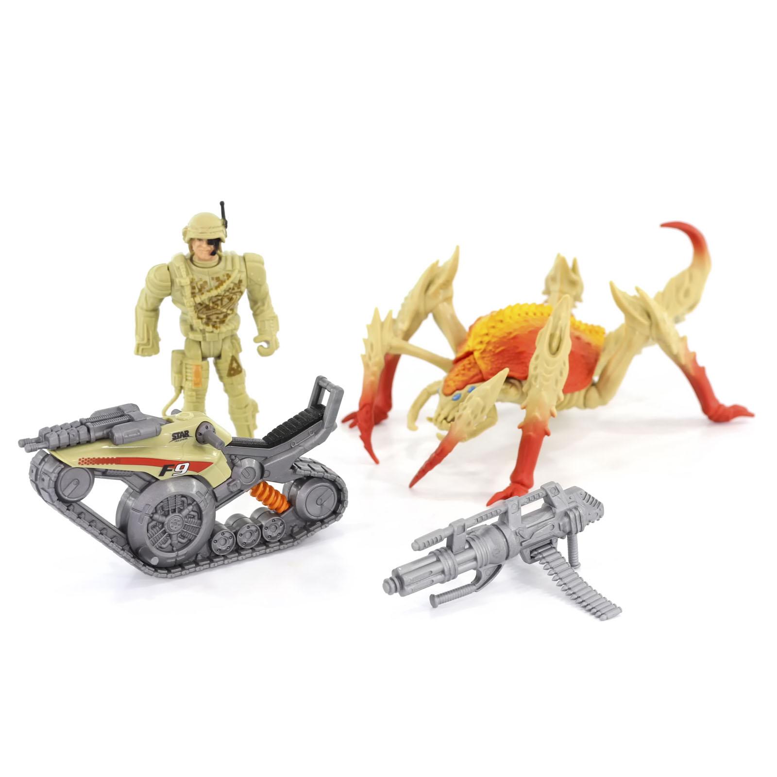 Игровой набор КОСМОС НАШ Бой с монстром Скорпоидом, Монстры Галактики, 16,5 см 38505-1