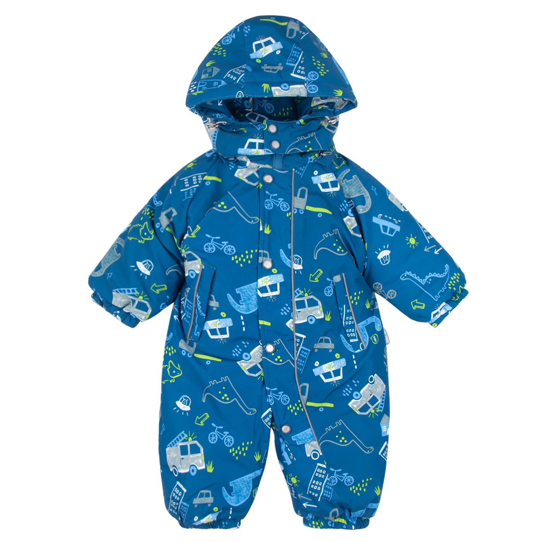Купить Комбинезон детский Fun Time DS202-b2-1-045 голубой р.86,
