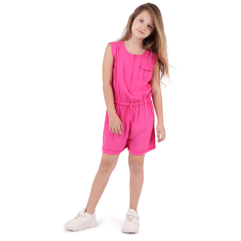 Купить Комбинезон детский Fun Time DS211-g4-1-254 розовый р.128,