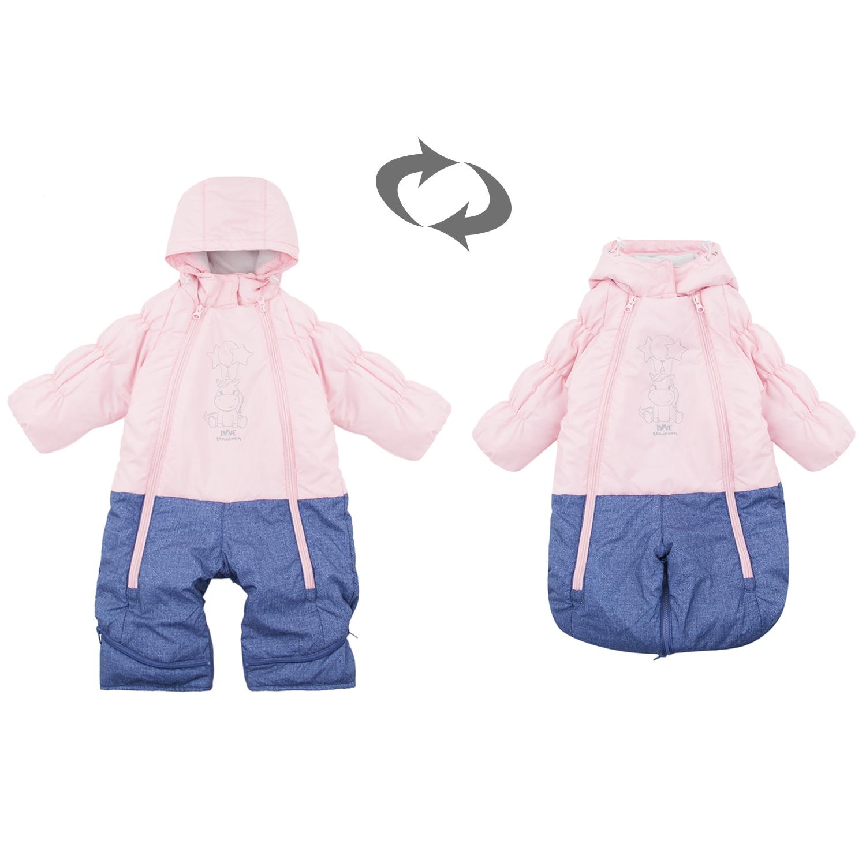 Купить Комбинезон детский Fun Time DS211-g2-1-017 розовый р.74,