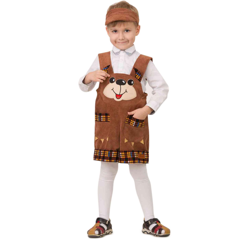 Карнавальный костюм Батик 5910 коричневый р.104