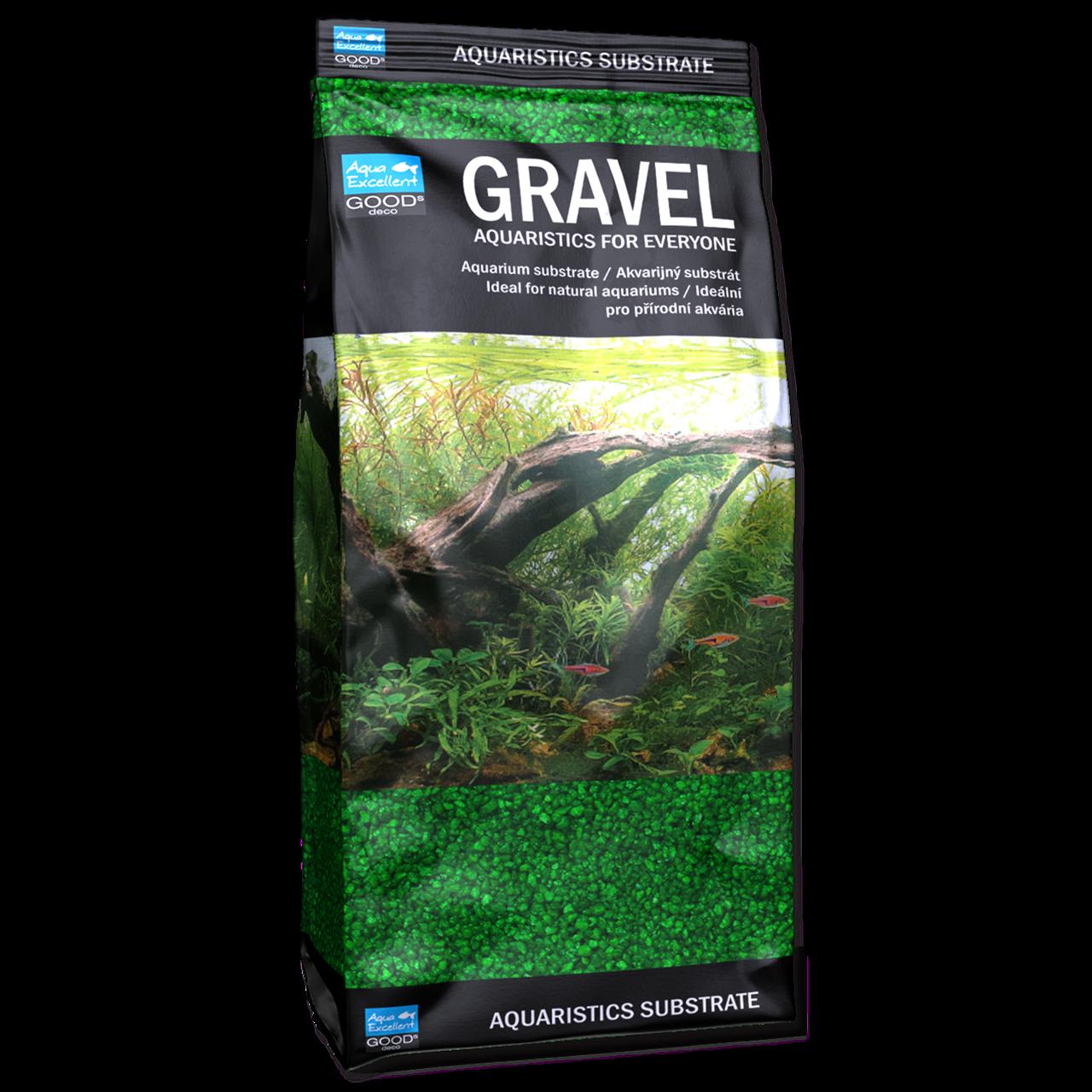 Грунт для аквариума Aqua Excellent песок, зеленый