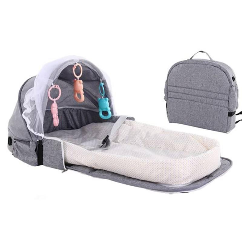 Мобильная детская кроватка сумка Baziator для путешествий,