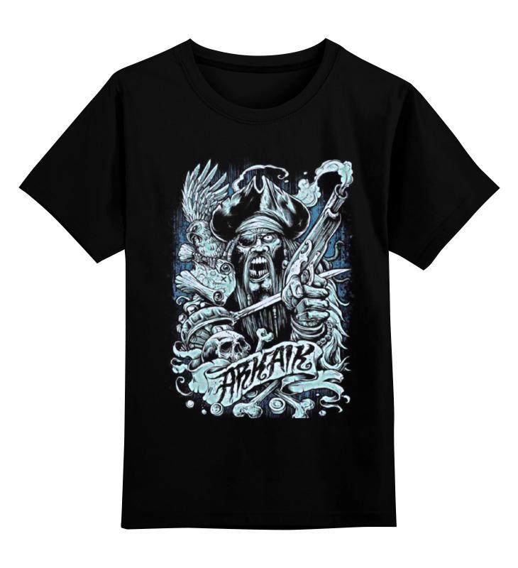 Детская футболка Printio Art horror цв.черный р.152 0000000758484 по цене 990
