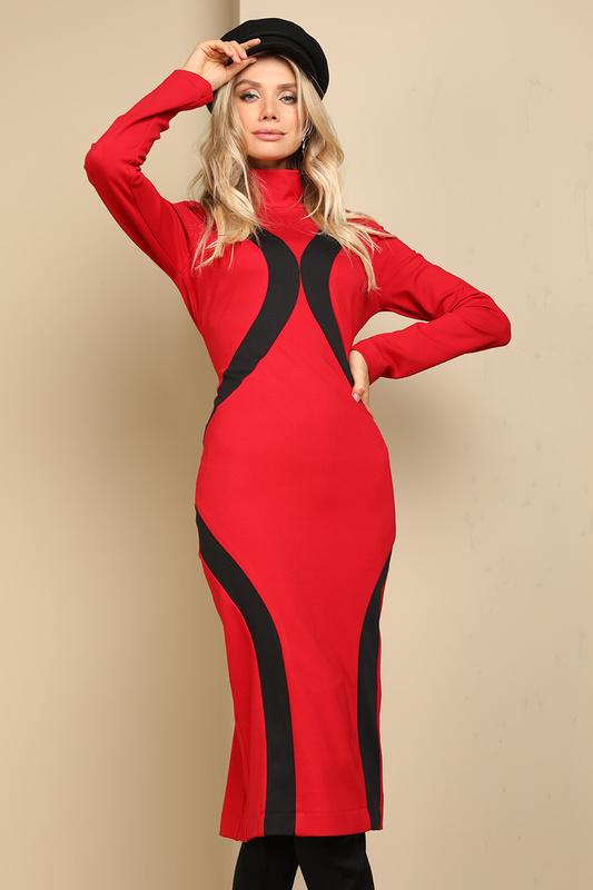 Платье женское AVEMOD AV 945 КРАСНое красное 42 AVEMOD   фото