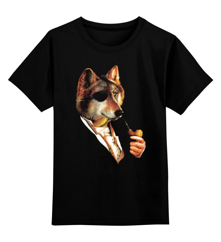 Детская футболка Printio Одноглазый волк цв.черный р.164 0000000762990 по цене 990