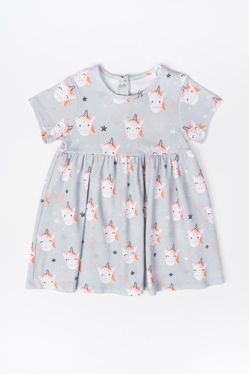 Платье детское Artie цв. разноцветный р.68