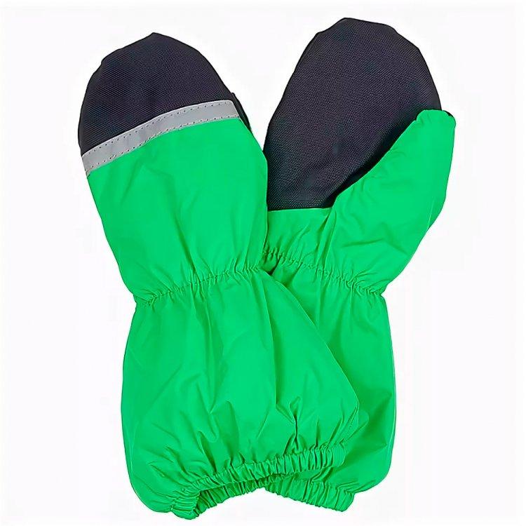 Варежки KERRY k17175/061 зеленые, размер 3