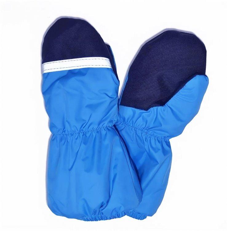 Варежки KERRY k13175/632 синие, размер 0