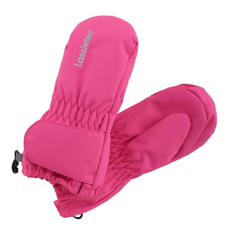 Варежки для малышей LassieTec Mifa Lassie, Размер 2, Цвет 4631-яроко-розовый 717712-4631_2