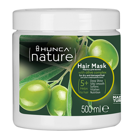 Купить Маска для волос HUNCA Olive Oil, 500 мл