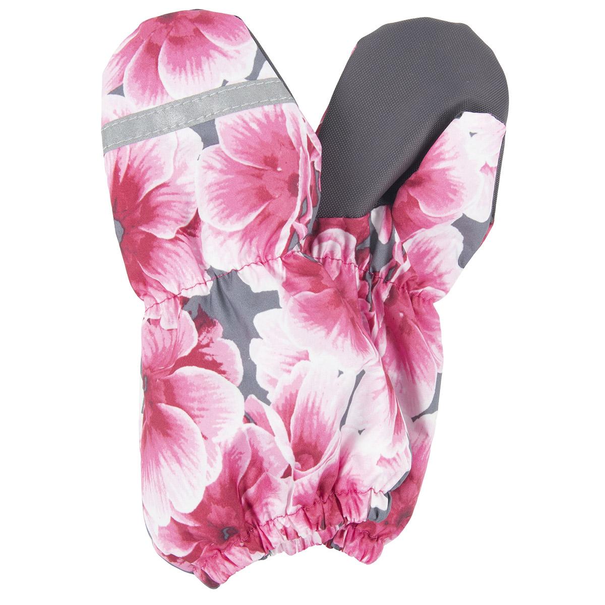 Рукавицы RAIN Kerry, Размер 2, Цвет 1910-розовые цветы K20173-1910_2