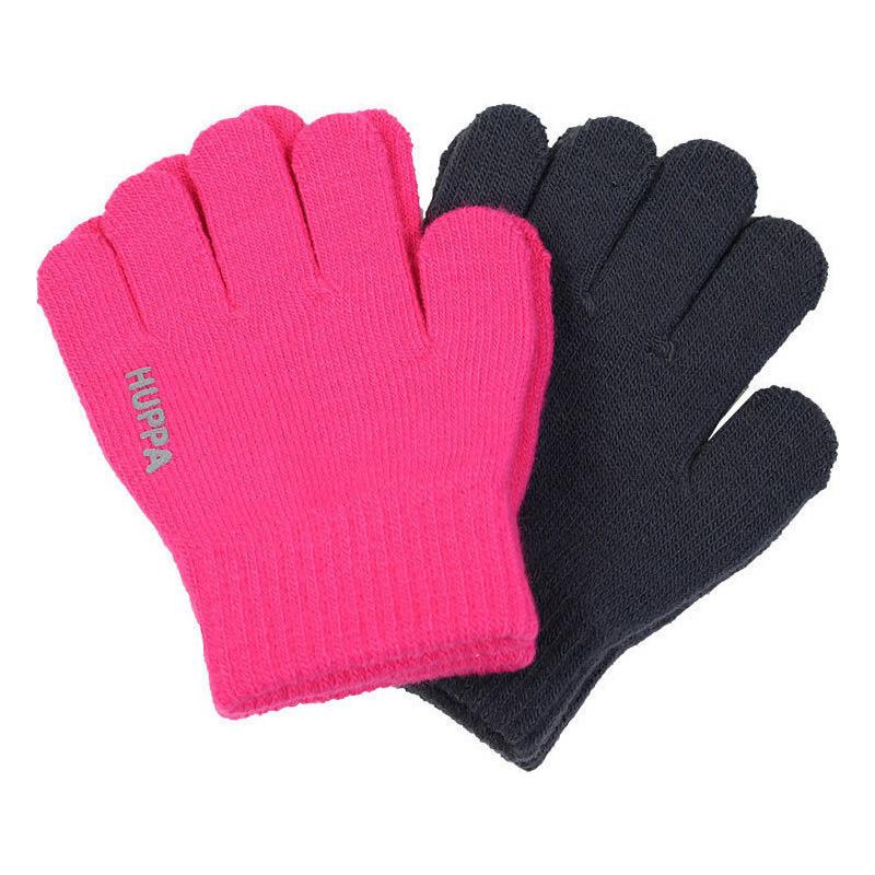 Перчатки LEVI 2 Huppa, Размер 1, Цвет 00163-фуксия/темно-серый 82050002-00163_1