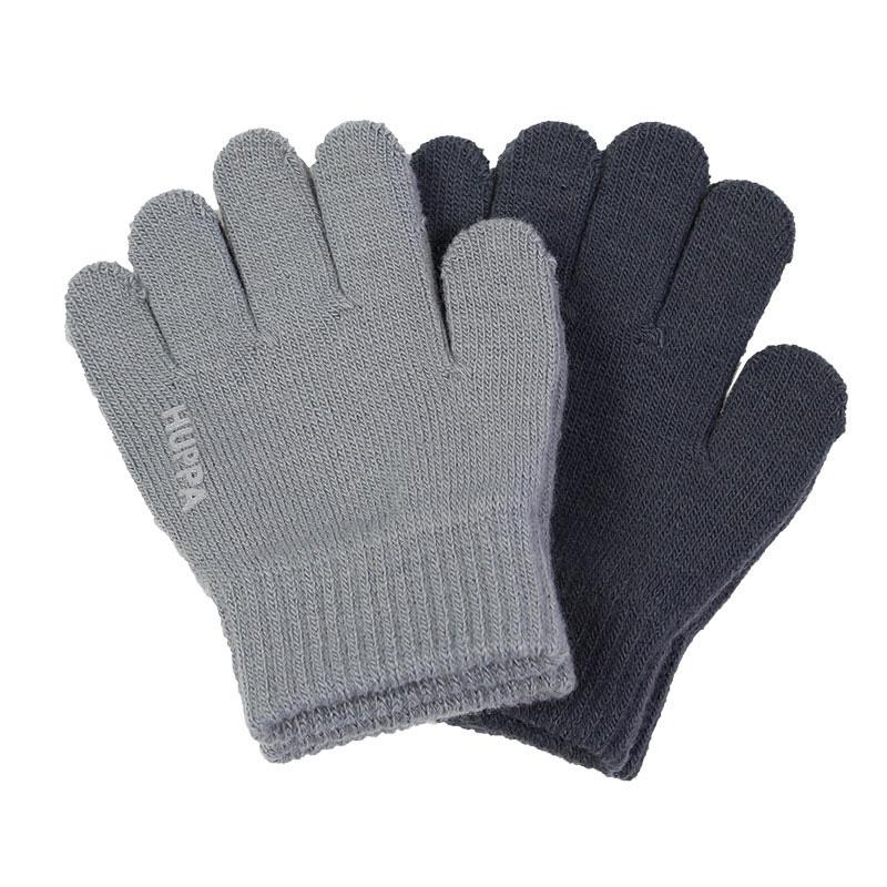 Перчатки LEVI 2 Huppa, Размер 1, Цвет 00148-серый/темно-серый 82050002-00148_1 82050002-00148
