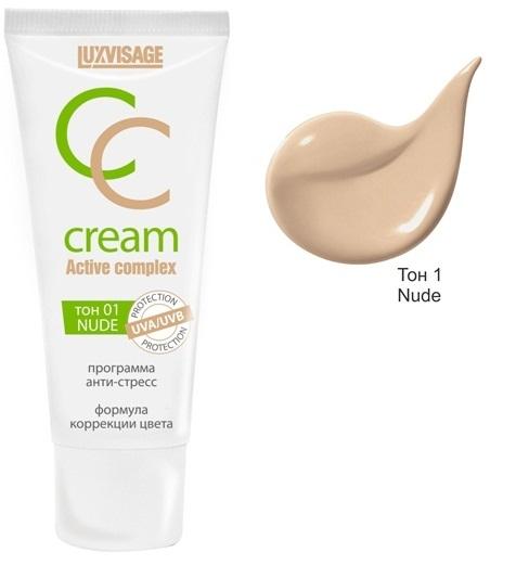 Купить СС средство LUXVISAGE CC Cream Active Complex тон 01 Nude 30 мл