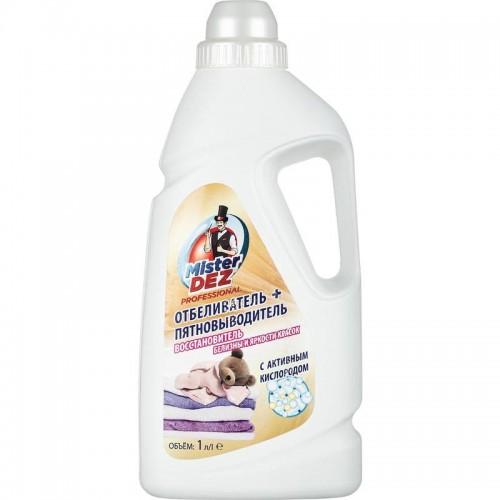Отбеливатель пятновыводитель MisterDez Professional жидкость 1 л