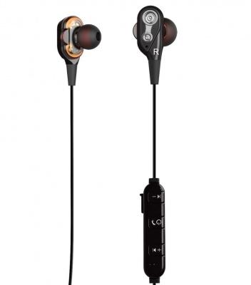 Беспроводные наушники Telefunken TF-HS1012B Black/Silver