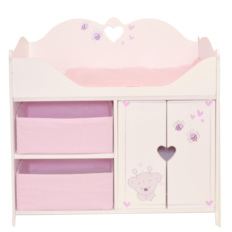 Кроватка-шкаф PAREMO для кукол Рони, стиль 2,  - купить со скидкой