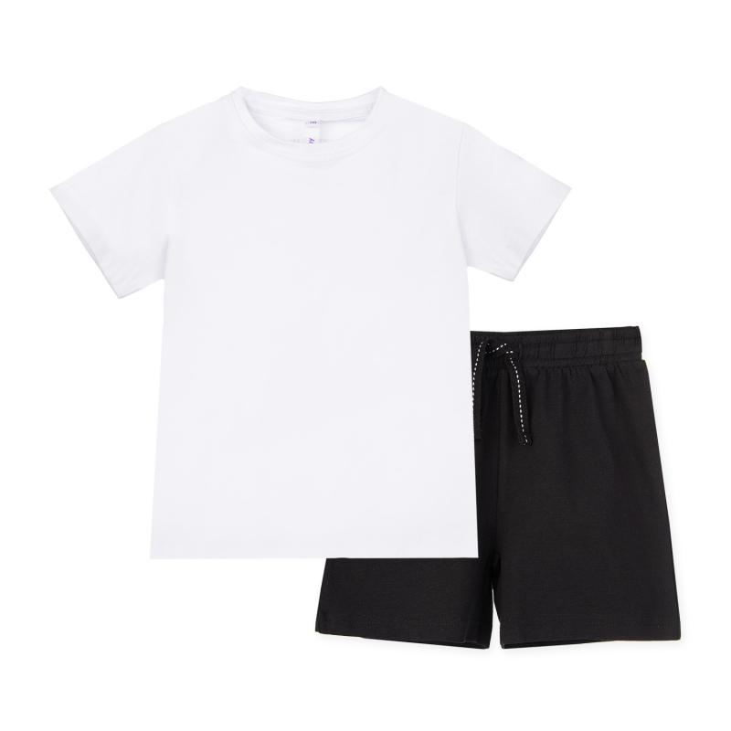Комплект трикотажный футболка и шорты PlayToday 32022310 р.98 Play Today 32022310_белый