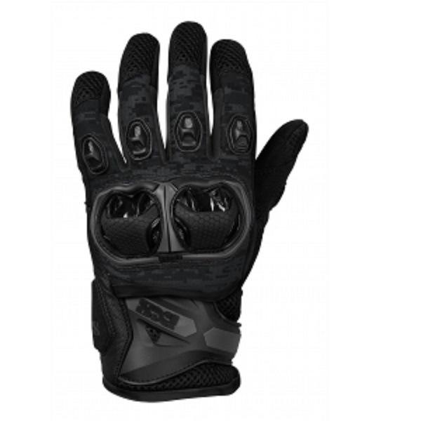 IXS Перчатки текстильные MONTEVIDEO air Black XL