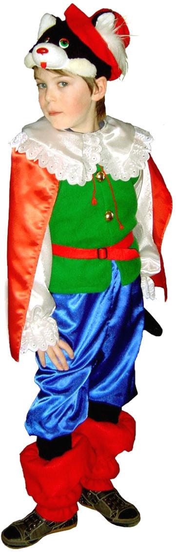 Купить Vm939, Костюм Волшебный мир Кот В Сапогах Маркиз Детский 104-134 см,