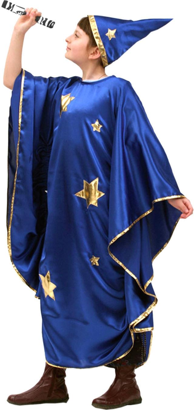 Купить Vm023, Костюм Волшебный мир Звездочет (Классический) Детский 134-150 см,