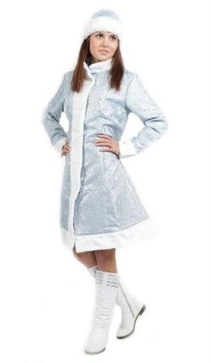 Купить Vm492, Костюм Волшебный мир Снегурочки (Шелк) Взрослый 44-46,