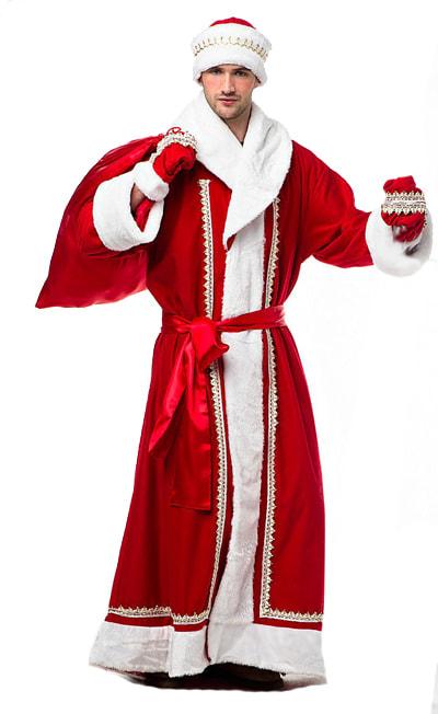 Купить Vm494, Костюм Волшебный мир Дед Мороз Текстиль 50-52,