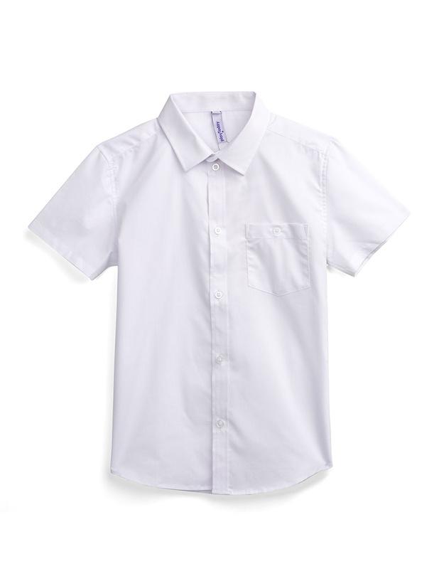 Рубашка PlayToday 393426_белый р.152
