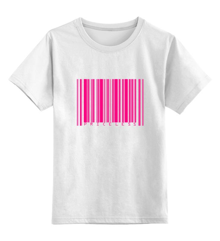 Детская футболка Printio Priceless цв.белый р.164 0000000752548 по цене 790