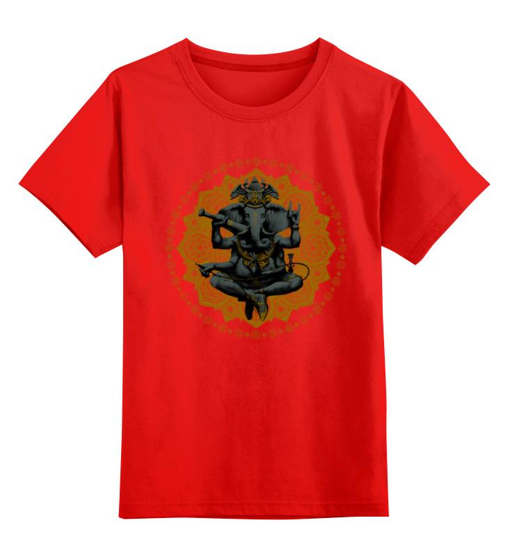 Детская футболка Printio Ганеш фиалка цв.красный р.164 0000000752264 по цене 990