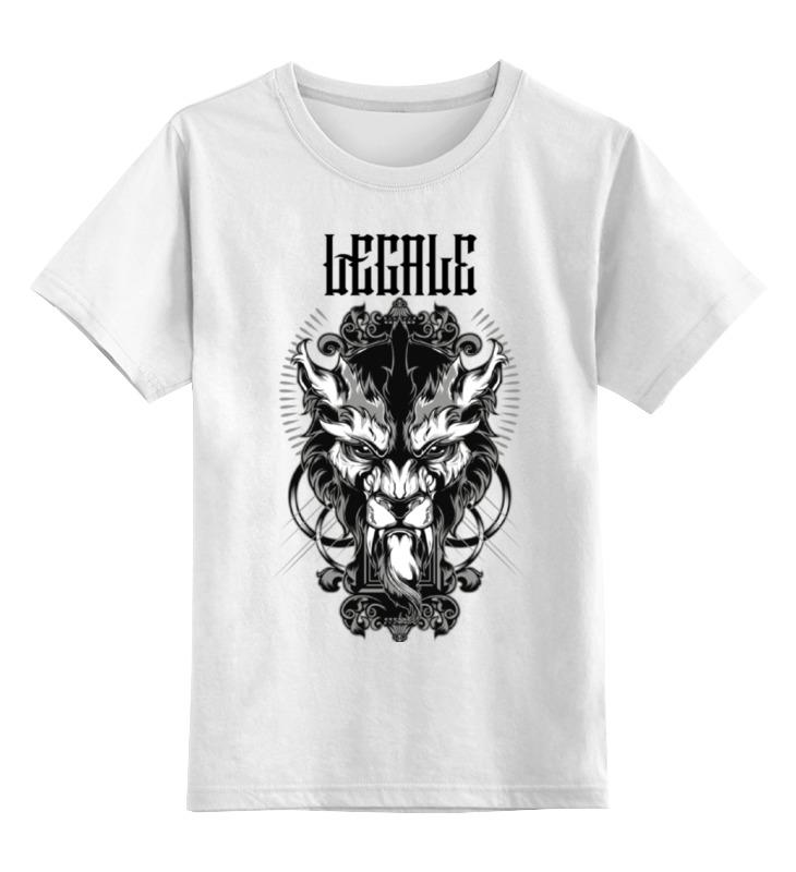 Детская футболка Printio Lycanthrope цв.белый р.164 0000000751268 по цене 790